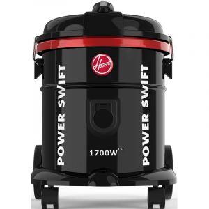 مكنسة هوفر برميل قدرة 1700 واط , سعة 15 لتر , أسود - HT85-T0-ME