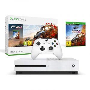 اكس بوكس وان اس  سعة تخزين 1 تيرا بايت مع لعبة فورزا هيرزون  مع اشتراك مجانى -Xbox One S