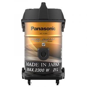 باناسونيك مكنسة برميل سعة كيس الغبار21 لتر- قدرة 2300واط - لون نحاسي, صناعة ياباني - MC-YL889T747