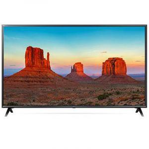 تلفزيون ال جي  فائق الدقة , مقاس 49 بوصة,  4 كيه , مزود بشاشة عرض اي بي اس - 49UK6300PVB