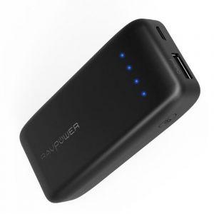 راف بور بطارية احتياطية للهواتف الذكية بسعة 6700 ملي امبير ، اسود ، RP-PB060