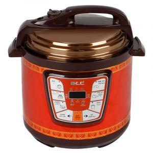 اي تي سي قدر ضغط سعة 6 لتر - قدرة من 1000واط  الى 1200واط ,لطبخ المندي والمضغوط والمحاشي والكبسة والكيك والشوربة , أحمر - H-APS3606L