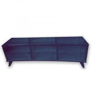 طاولة تليفزيون منحنيه  حتى 75بوصة - 160 أسود - CURVED75-160