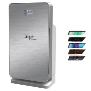 Emjoi Power UEAP-352 Air Purifier 6-Stage Filtration System with HEPA Filter 99.97% Rate & Air Quality Level System