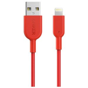 Anker Powerline II Lightning Cable, 1.8M, Red – A8433H91