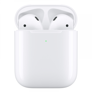 Apple Airpods 2 with Wireless Charger Case White - MRXJ2