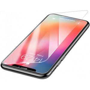 باسيوس واقٍ للشاشة من الزجاج المقوى لهاتف أبل آيفون XS ماكس شفاف -  SGAPIPH65-ES02