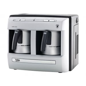 ماكينة صنع قهوة تركي بيكو، فضي - BKK 2113