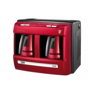 صانعة القهوة التركية بقوة 1200 واط بكوبين من بيكو – أحمر (BKK2113P LAL)