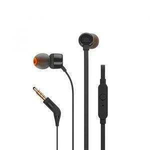 سماعات T110 في الاذن بتصميم سلكي من جي بي ال - أسود