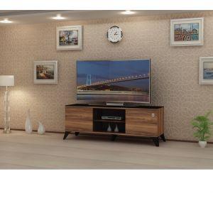 طاولة تليفزيون بدون استاند 60-65 بوصه , اللون جوزي - CR43-160HC  -  التركيب متاح مجانا داخل الرياض فقط