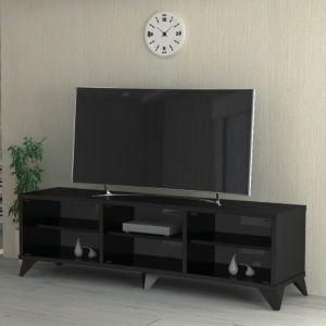 طاولة تليفزيون منحنيه 60-65 بوصه بدون استاند - أسود - CURVED75-160  -    التركيب متاح مجانا داخل الرياض فقط