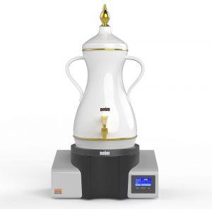 ديم غلاية قهوة , دلة الضيوف صانعة القهوة العربية , سعة 7 لتر , فترة التحضير 30 دقيقة , الإحتفاظ بدرجة الحرارة لمدة 6 ساعات - ADGD07P1