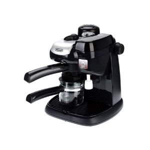ديلونجي كوفي ميكر قدرة 800 اط كابتشينو، خزان حليب، أسود - DLEC9