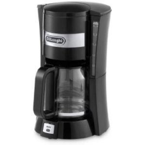 ديلونجي ماكينة قهوة مفلترة مسحوق , اسود - DLICM15211