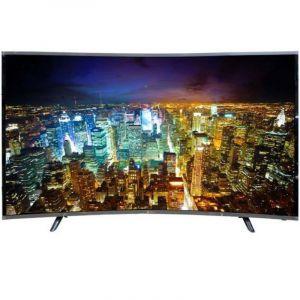 تلفزيون دانسات 55 بوصة, منحنيه , 4 كيه  الترا اتش دي , ال اي دي , ذكي - DTC55BU