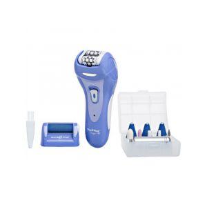 امجوي ماكينة نزع شعر نسائي ,مع ملحقات طقم لتقشير البشرة + تشكيل وتنعيم اظافر - AP-14RP