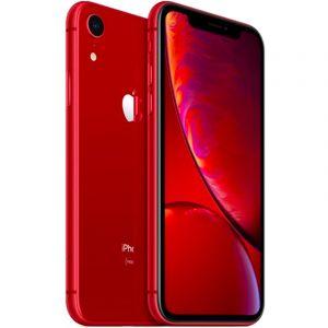 ابل آيفون اكس ار ،سعة 128جيجابايت  ،الجيل الرابع 4 جي ،أحمر