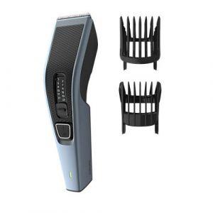 فيليبس ماكينة حلاقة  الشعر ,شفرات من الفولاذ المقاوم للصدأ ,13 إعداد طول , مع مشط للحية , إستخدام لاسلكي 75 دقيقة-HC3530/13