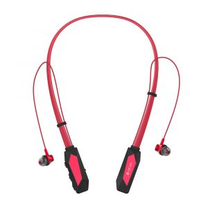 ديفيا  سماعات أذن رقبه- بلوتوث , أحمر-HP-56-R