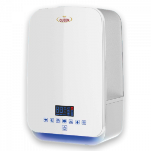 HOME QUEEN Humidifier With Touchable control And Timer,3 Steam Level,Tank 5.5 L - HQSH806