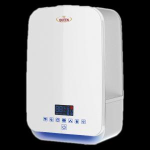 هوم كوين مرطب هواء لوحة تحكم اليكترونيه باللمس, خزان 5.5 لتر, 3 مستويات للبخار - HQSH806