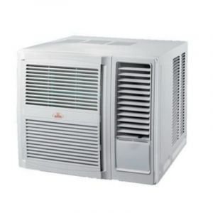 هوم كوين مكييف هواء شباك روتاري بارد فقط، 21800 وحدة، الترا، صنع في الصين - HQWG24CN