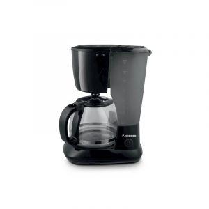 هومير صانعة قهوة وعاء زجاجي سعة 12 فنجان مضاد للتسرب , قدرة 750واط , ابريق مقاوم للحرارة والكسر بسعة 1.25 لتر , أسود -  HSA241-01