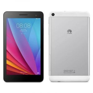 هاتف تابلت هواوي تي 1, 7 بوصه , الرام 1جيجا , معالج كواد كور , الذاكرة 8 جيجا , الشبكة 3 جي , فضي - MediaPad T1 7.0