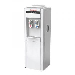 هانويل برادة مياه  استاند عدد 2 بزبوز حار/بارد ,  قفل أمان للأطفال , أبيض - HWB1052W