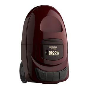 مكنسة هيتاشى قوة 1600 واط , سعة 5 لتر , أحمر, تايلاندى, CV-W1600 SS220 WR