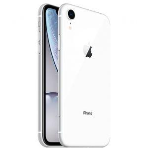 ابل ،آيفون اكس ار ،سعة 128جيجابايت ،أبيض ،الجيل الرابع 4G