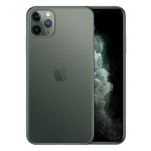 ابل ايفون 11 برو ماكس, سعة 64 جيجابايت ،4 جيجابايت رام ،الجيل الرابع 4جي - أخضر ليلي