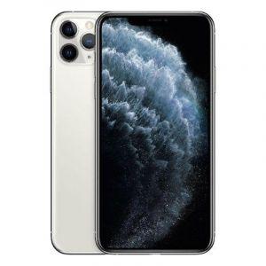 ابل ايفون 11 برو ماكس, سعة 64 جيجابايت ، 4 جيجابايت رام ،الجيل الرابع 4 جي - فضي