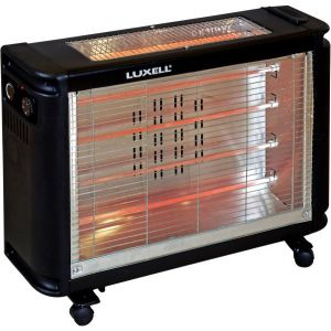 Luxell Electric Heater, 6 Quartz tube, LX-2811-6