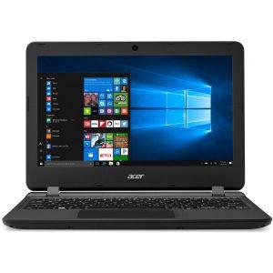 كمبيوتر محمول أسباير ES1-132-C8CE بشاشة بقياس 11.6 بوصة، معالج سيليرون/ذاكرة الوصول العشوائي 2 جيجابايت/وإي إم إم سي بسعة 32 جيجابايت  أسود
