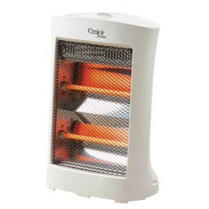 Emjoi  Electric Halogen Heater 800W - White -UEH-80H