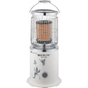 بيرون دفاية كهربائية مدورة بقدرة 2000 وات - فيش ثلاثي وآمان عند السقوط, أبيض-RE-7-009