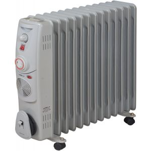 Luna Oil Radiator 14 fins With Turbo Fan, LOR-1414FT