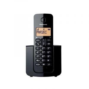 هاتف لاسلكي ثابت من باناسونيك، DECT ،CID، أسود - KX-TGB110UEB