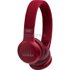 سماعة رأس لاسلكية جي بي ال لايف, احمر - JBLLIVE400BTRED