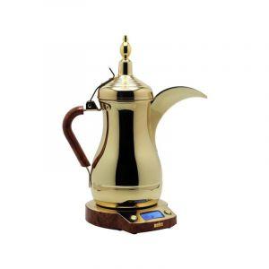 ديم غلاية قهوة دلة العرب الذهبية , سعة 1لتر , قدرة 850واط ,اللون ذهبى كامل - JLS-170EP