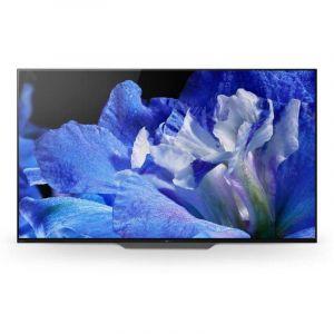 سوني شاشة 55 بوصة , اندرويد , OLED , 4K ULTRA HD , HDR  ، اسود ، KD-55A8F