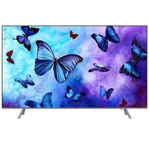 تليفزيون سامسونج  كيو ال اي دي مسطحة  65 بوصة ,4 كيه , شاشة ذكية , فضي - QA65Q6FNARXUM