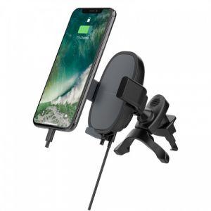 راف باور حامل الهواتف الذكية للسيارة ,لون اسود - RP-SH016