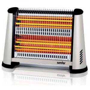 سمفير دفاية كهربائية 2200واط عدد 4 شمعة-S2600