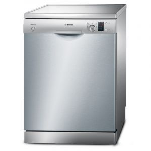 Bosch Dishwasher,12 Place Settings, 5Programs, Silver Inox-SMS50D08GC