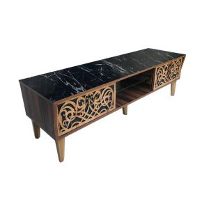TV Table Without Stand , Black - CR43-160HC