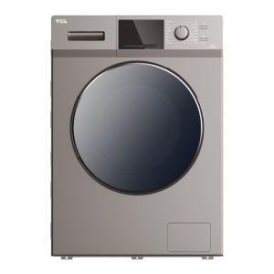 تي سي ال غسالة ملابس منزلية تعبئة امامية, سعة 7 كجم, تجفيف 75% , فضي - TWF70-M12303DA03-05
