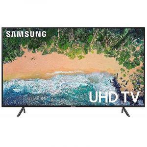 تليفزيون سامسونج  43 بوصة ذكي, 4كيه الترا اتش دي - UA43RU7100RXUM
